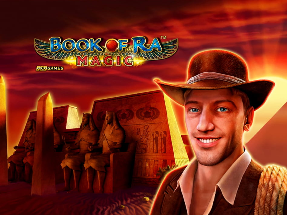 Juego de tragamonedas Book of Ra Magic