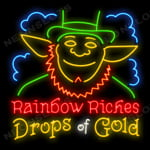 Rainbow Riches Drops of Gold - Juego de tragamonedas Gratis