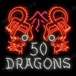50 Dragons tragaperras de Aristocrat
