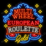Multi Wheel European Roulette Gold - Ruleta Europea gratis