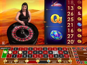 Ruleta Slot Great Rhino Extreme Live