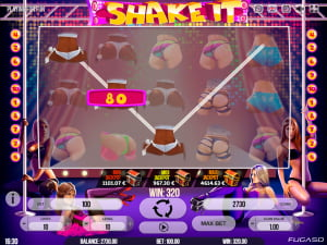 Premios de la slot Shake It