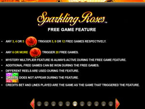 Sparkling Roses Free Games