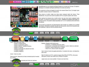 Reglas del Bingo Monsters
