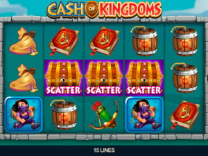 Símbolos del juego Cash of Kingdoms
