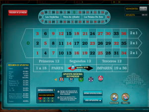 Estadísticas de Ruleta Europea Multi Wheel European Roulette Gold