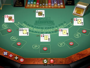 Manos del BlackJack Europeo Perfect Pairs Gold