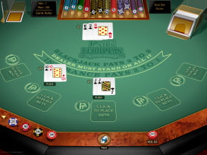 Premios del BlackJack Europeo Perfect Pairs Gold