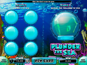 Tablero de la rasca Plunder the Sea