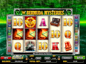 Símbolos de la slot The Bermuda Mysteries