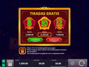 Tiradas gratis de la slot The Great Albini