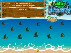 Pantalla del juego Turtley Awesome