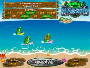 Premios de la rasca Turtley Awesome