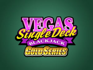 Juego de Vegas Single Deck Blackjack Gold