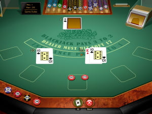 Combinaciones de Vegas Single Deck Blackjack Gold