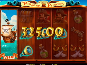 Símbolos de la slot Pirates and Plunder