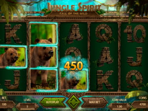 Premios de la tragamonedas Jungle Spirit