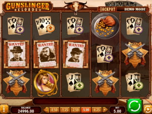 Símbolos de la slot Gunslinger Reloaded