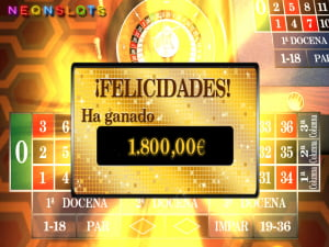 Ganancias en la Ruleta Europea
