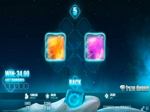 Bonus de la slot Frozen Diamonds