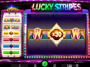 Símbolos de la slot Lucky Stripes