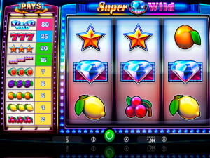 Símbolos de la slot Super Diamond Wild