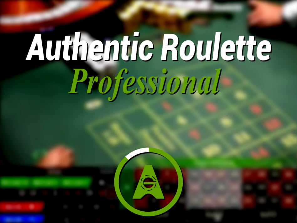 Ruleta en vivo Profesional Authentic