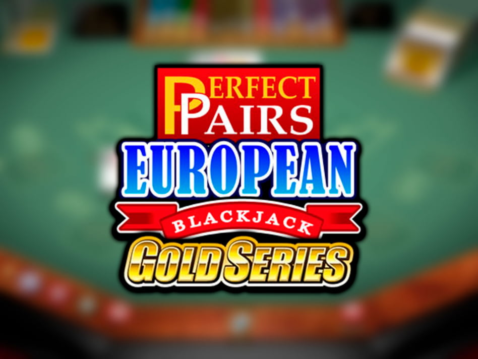 Juego de BlackJack Europeo Perfect Pairs Gold