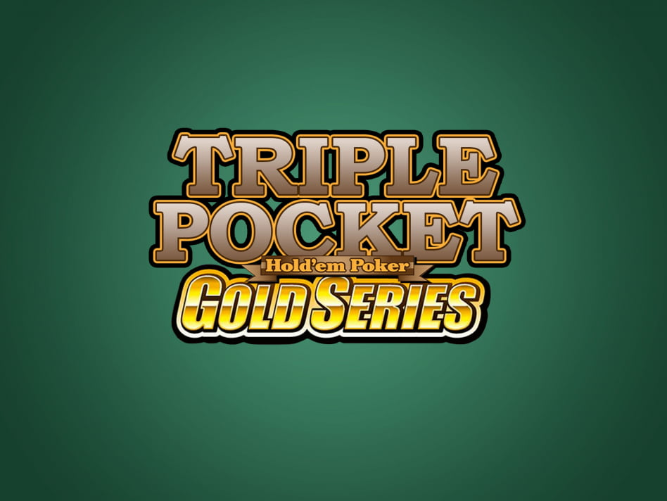 Juego de Poker Triple Pocket Hold'em Gold Series