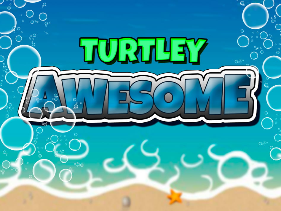 Juego de rasca y gana Turtley Awesome